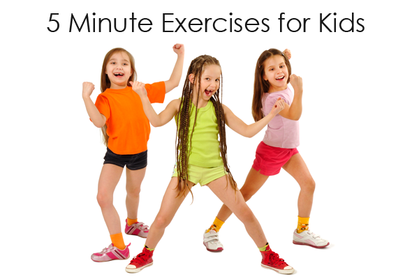 Healthy Recess Ideas 5 Minute Exercises For Kids