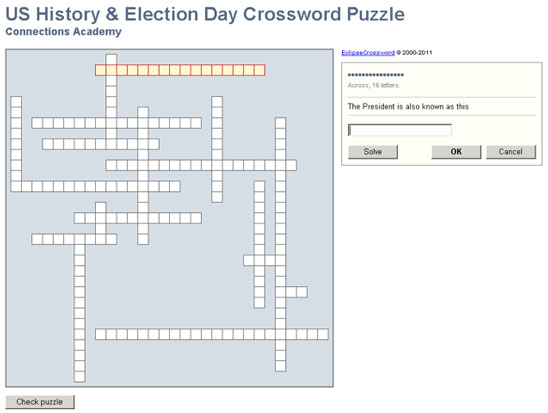 Cast Your Vote For Crossword Puzzles This Election Day Connections