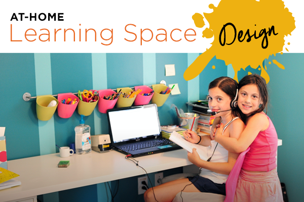 At Home Learning Space Design Ideas