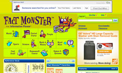 Fact Monster free reference website