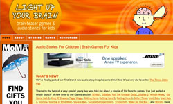 Light Up Your Brain educational website