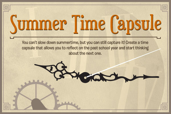 summer time capsule for kids connections academy