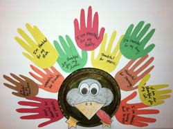 Thankful For Turkey Craft Activity For Kids Connections Academy